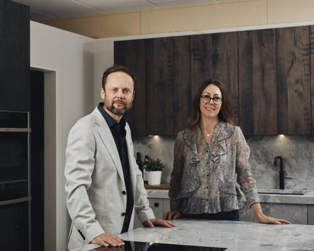 Daval Partners: Andrew and Marie Pope of Spaces by Design, Stamford