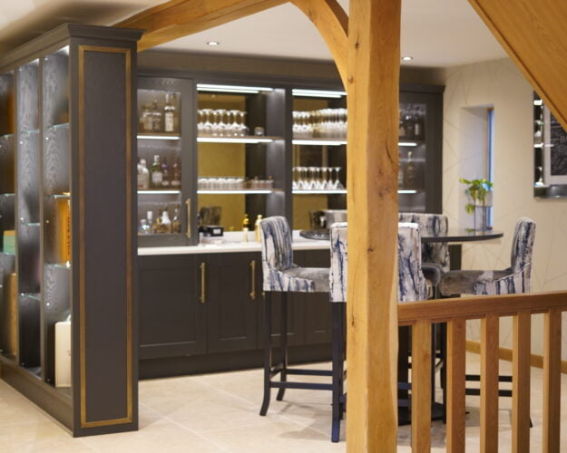 Daval's Wilshaw Home Bar Project shortlisted in Designer Awards 2021